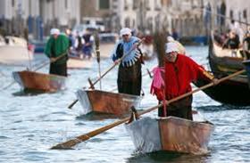 Celebrating in Venice!