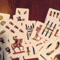 Art is everywhere - even in a Napoletane deck of cards.