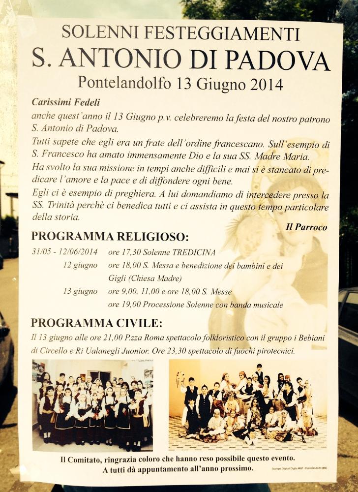 San Antonio Di Padova and Me (4/4)