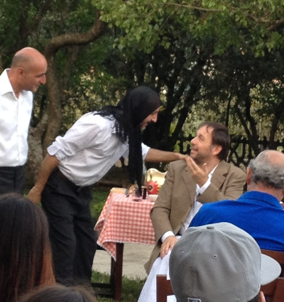 Actors + Olive Oil = Great Night (4/6)