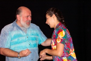 "George Hansel & Tracey Paleo in NY Production of my Pay ""Annarita."""