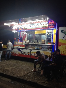 The pork stand.  Hmm we need to try this one night.