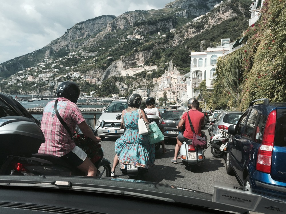 August and the Amalfi Coast Road - Hell (1/5)