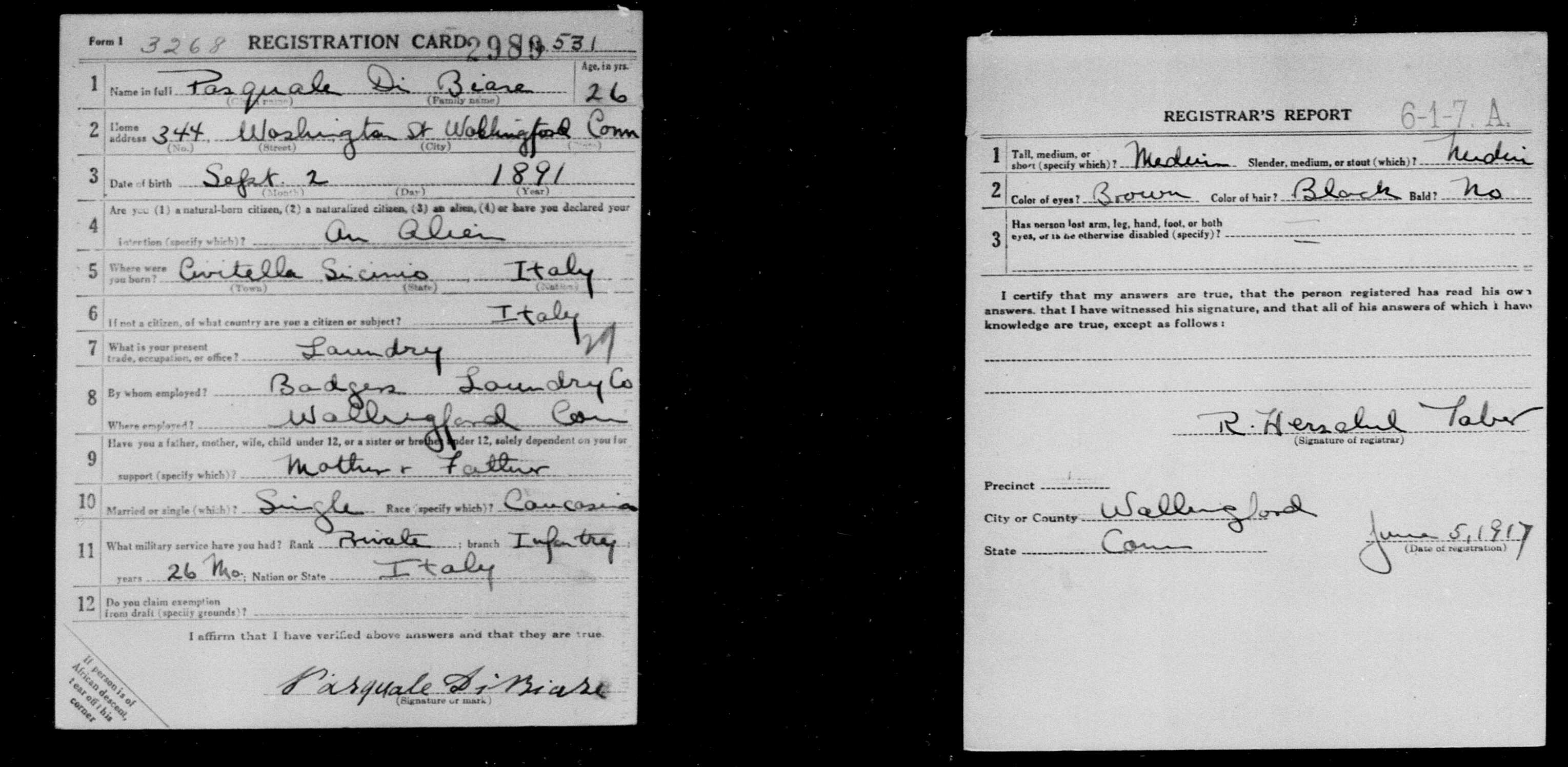 World War I draft registration - FamilySearch