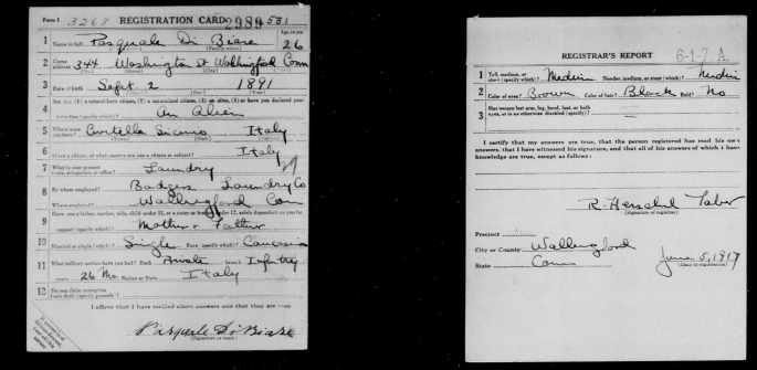 World War I draft registration - FamilySearch